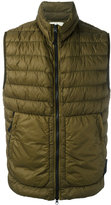 Stone Island padded gilet - men - Feather Down/Polyamide/Polyurethane Resin - M