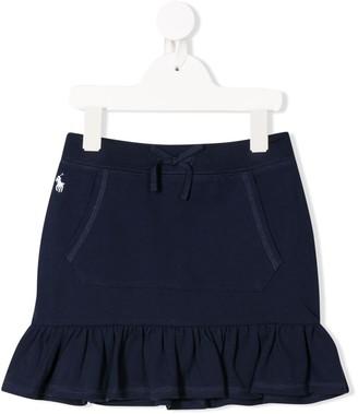Ralph Lauren Kids Ruffle-Trimmed Mini Skirt