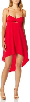 BCBGMAXAZRIA Azria Women's Sabryna Woven Bustier Dress with Cutout