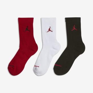 Nike Little Kids' Crew Socks (3 Pair) Jordan Jumpman