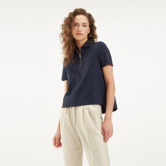 Tommy Hilfiger Zip Neck Polo