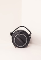Missguided Black Circle Cross Body Bag