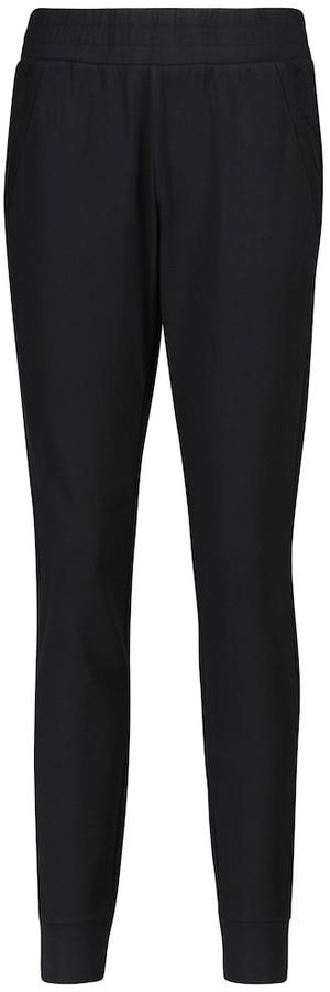 Alo Yoga Unwind stretch cotton-blend sweatpants