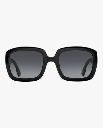 Christian Dior D Square Oversized Sunglasses