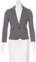 Tory Burch Striped Knit Blazer