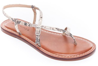 Bernardo Adjustable Leather Strappy Sandals - Lexi