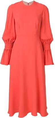 Roksanda gathered sleeve dress