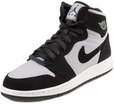 Jordan Big Kids Air 1 Retro High (GS) (wolf / white-black) Size 6.5 US