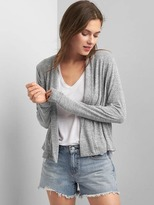 Gap Softspun knit open-front cardigan