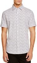 Sovereign Code Miguel Geo Short Sleeve Regular Fit Button-Down Shirt