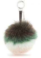 Fendi Green Fox Fur Charm