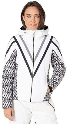 Obermeyer Trine Jacket (White) Women's Clothing