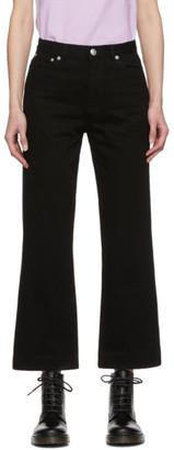 A.P.C. Black Sailor Jeans