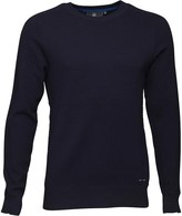 Duck and Cover Mens Sustain Jumper Deep Navy