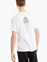 Stone Island White Printed Cotton T-shirt