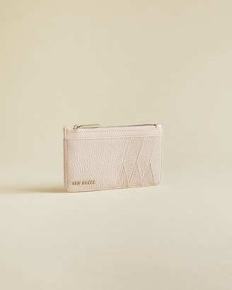 Ted Baker Leather Zipped Card Holder