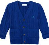 Personalization Baby Boy Cotton Cardigan