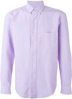 Palm Angels buttoned down collar shirt