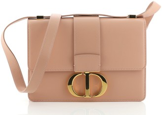 Christian Dior 30 Montaigne Flap Bag Leather