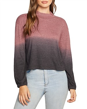 Chaser Cropped OmbreSweater