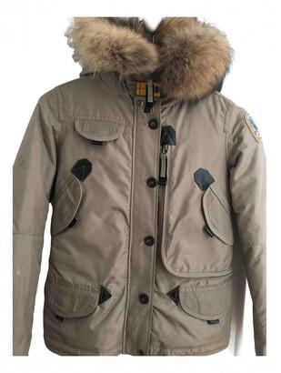 Parajumpers Beige Raccoon Jackets & Coats