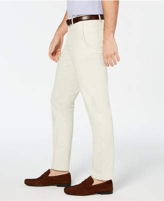 DKNY Men Bedford Slim-Straight Fit Performance Stretch Sateen Pants