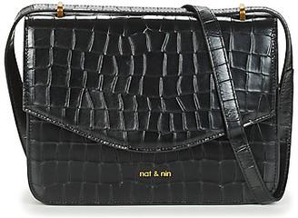 Nat & Nin HERMIONE women's Shoulder Bag in Black