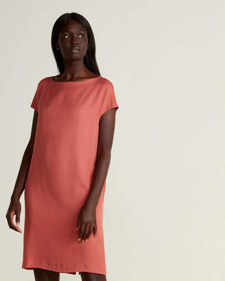Marni Solid Silk Shift Dress