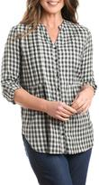 Casual Studio Black Plaid Tunic