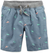 Carter's Graphic-Print Cotton Shorts, Toddler Boys