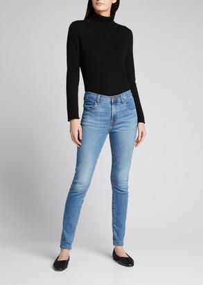 J Brand Maria High-Waist Skinny Jeans, Uncharted