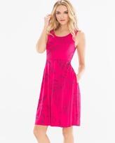 Soma Intimates Sleeveless Fit and Flare Short Dress