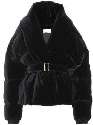 Alexandre Vauthier Quilted velvet jacket