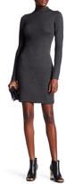 Max Studio Long Sleeve Mock Neck Sweater Dress