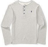 Ralph Lauren Boys 8-20 Boys Long Sleeve Striped Henley
