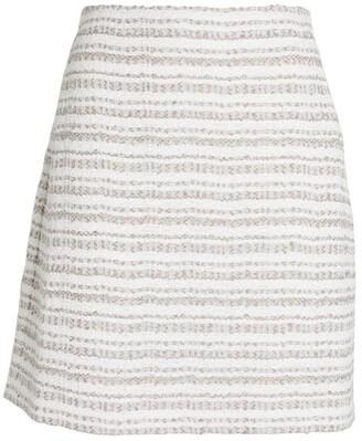 D-Exterior D.Exterior Boucle Mini Skirt