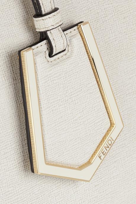 Fendi 2Jours medium textured-leather shopper