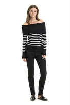 Country Road Off Shoulder Knit