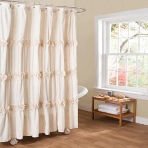 "Lush Decor Darla 72"" x 72"" Shower Curtain Bedding"