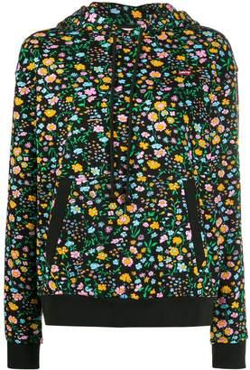 Levi's floral print hoodie