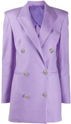 ATTICO The double breasted blazer dress