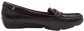 Supersoft By Diana Ferrari Leeto Flat Shoes Black Euro Leather