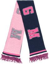 MSGM logo pattern scarf