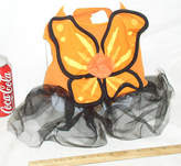 Martha Stewart Pets Medium Med M Ms Monarch Butterfly Tutu Dog Halloween Costume