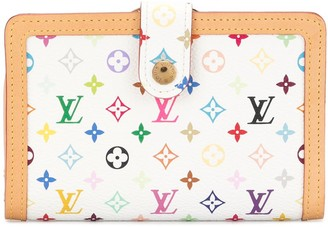Louis Vuitton Monogram Print Leather Wallet