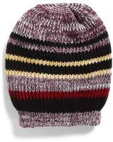 Free People Women's Everyday Striped Beanie - Red