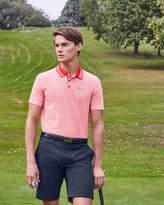 Ted Baker Mini geo print golf polo shirt
