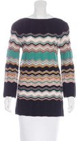 M Missoni Wool-Blend Patterned Sweater
