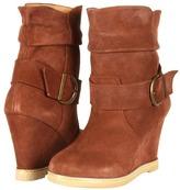 Kelsi Dagger Haley Bootie (Nutmeg Suede) - Footwear