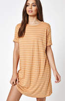 Michelle by Comune Striped T-Shirt Dress